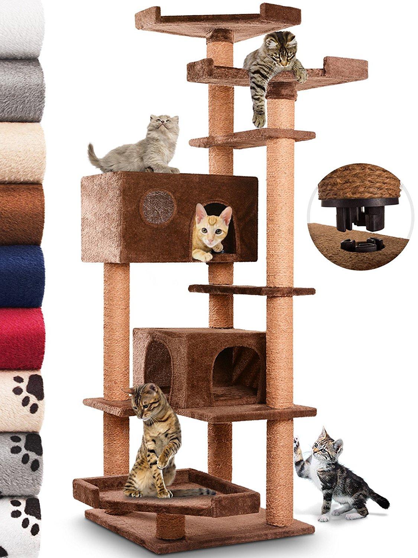 kratzbaum xxl gunstig latest kratzbaum fr groe katzen stabiler kratzbaum mit plschbezug stmme. Black Bedroom Furniture Sets. Home Design Ideas